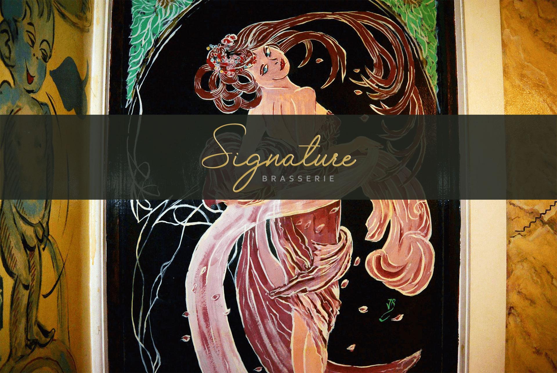 Brasserie Signature home page